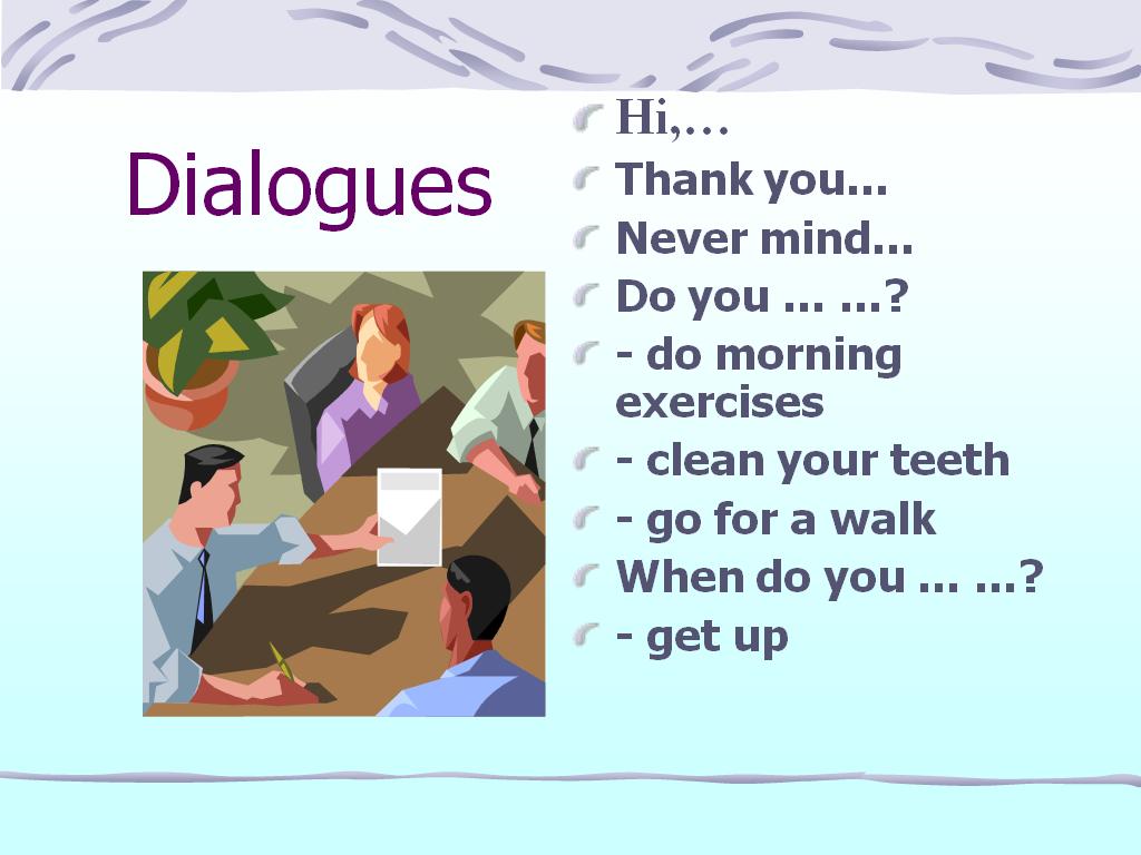 туристические диалоги на английском самом