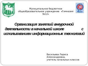 Муниципальное бюджетное общеобразовательное учреждение «Гимназия №12» Организ