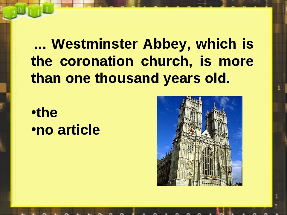 ... Westminster Abbey, which is the coronation church, is more than one thou...