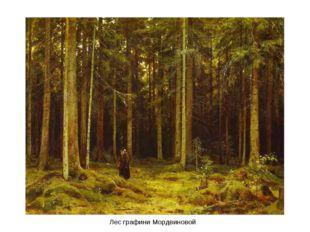Лес графини Мордвиновой