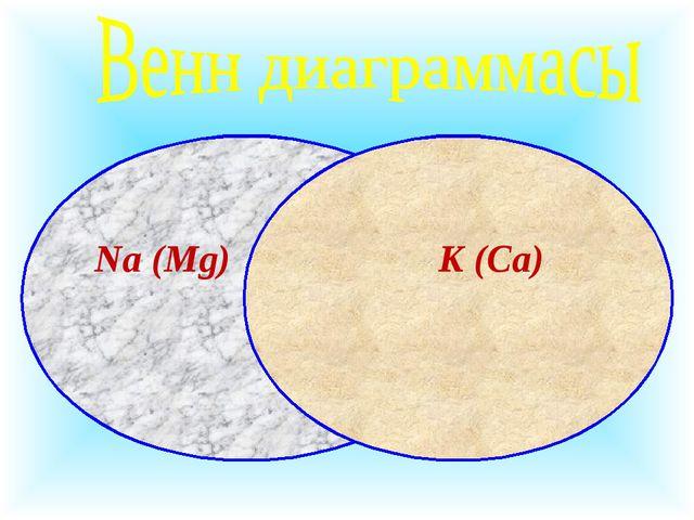 Na (Mg) K (Ca)