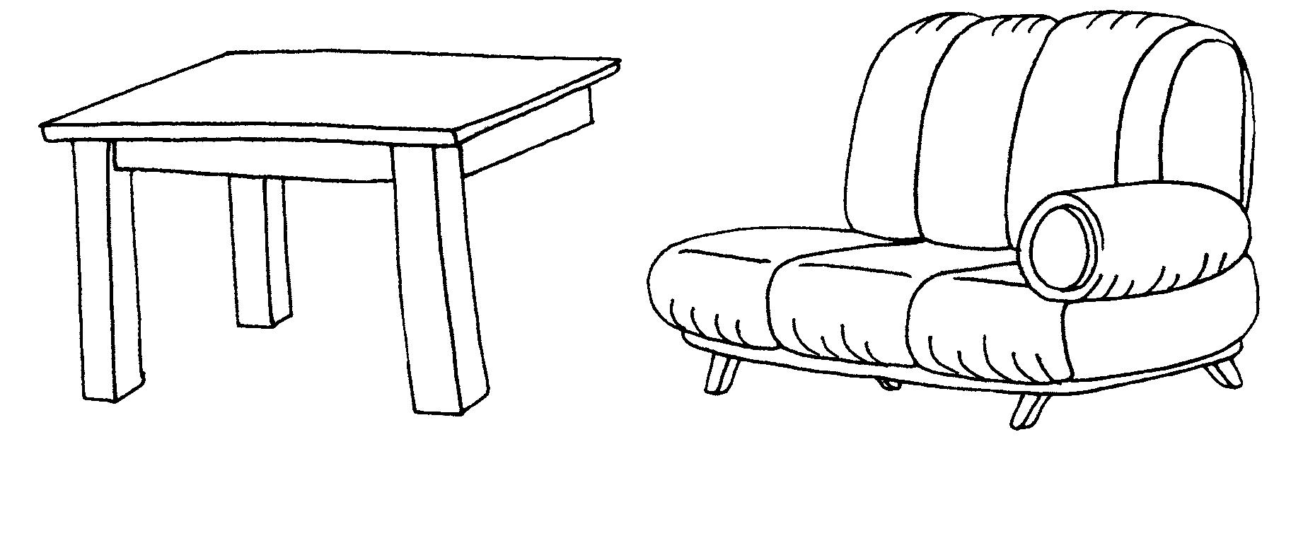 картинки предметы домашнего быта раскраски диван этих патологических процессов