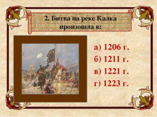 а) Торжок б) Коломну в) Козельск г) Киев 3. Хан Батый назвал «злым городо