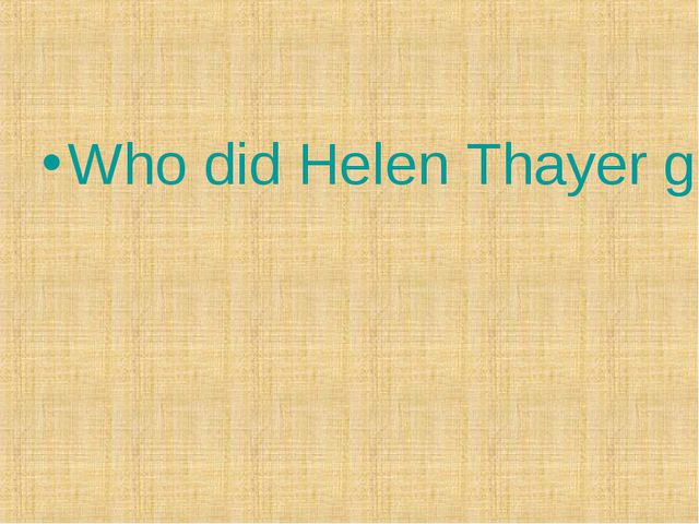 Who did Helen Thayer go to the North Pole with?