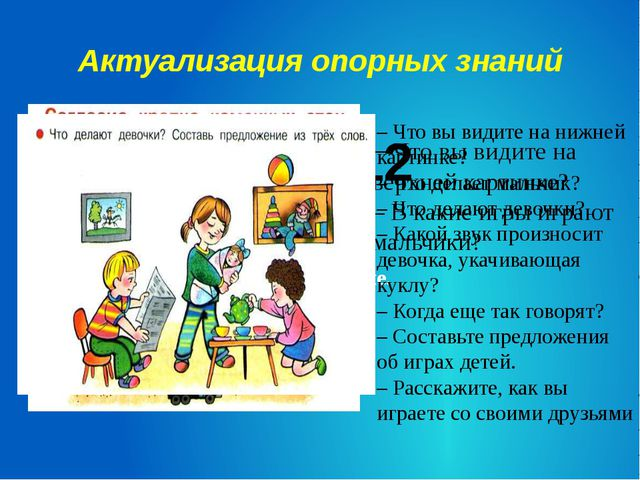 Актуализация опорных знаний с. 12 – Подберите слова к данной схеме. – Что вы...