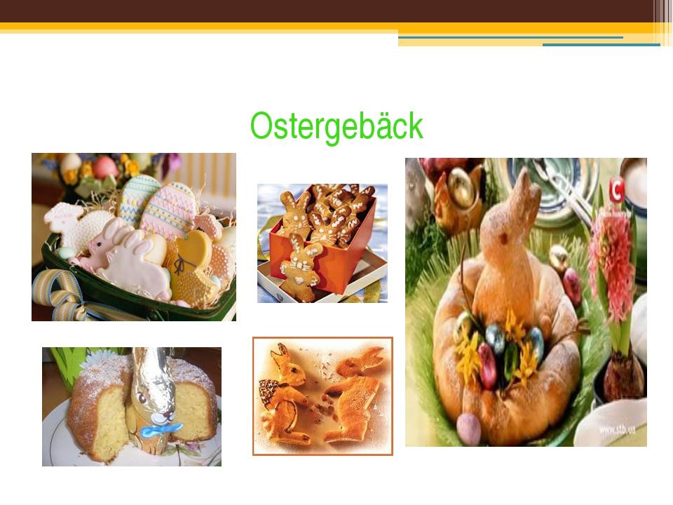 Ostergebäck