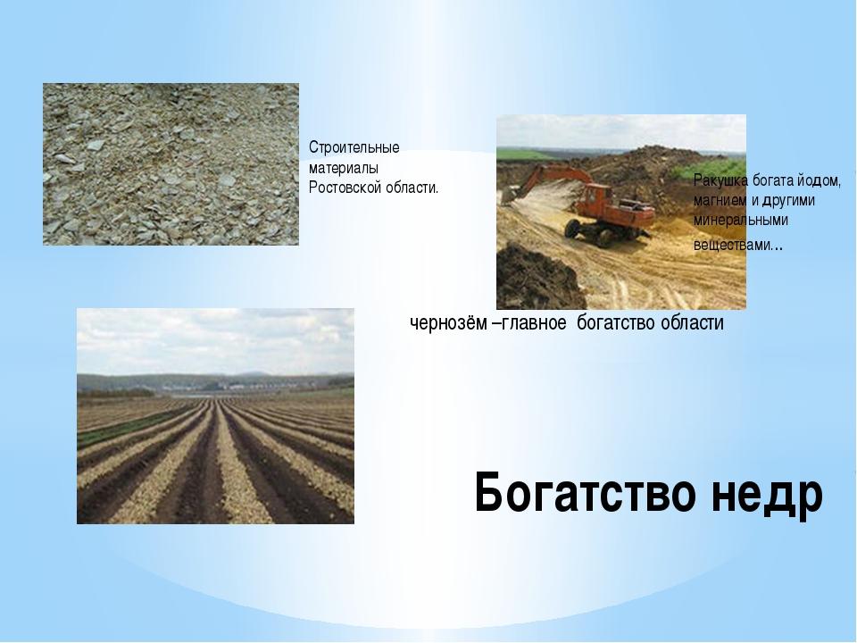 Строительные материалы Ростовской области. Ракушка богата йодом, магнием и др...