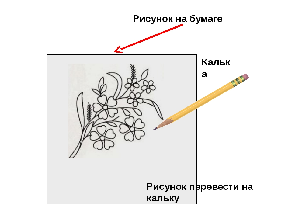 Рисунок на бумаге Калька Рисунок перевести на кальку