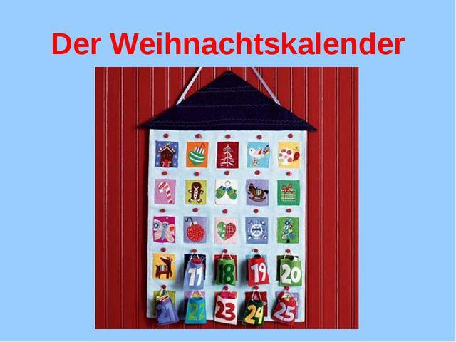 Der Weihnachtskalender
