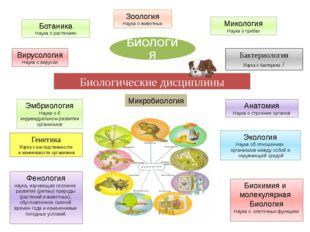 Биологические дисциплины БИОЛОГИЯ Генетика Наука о наследственности и изменчи