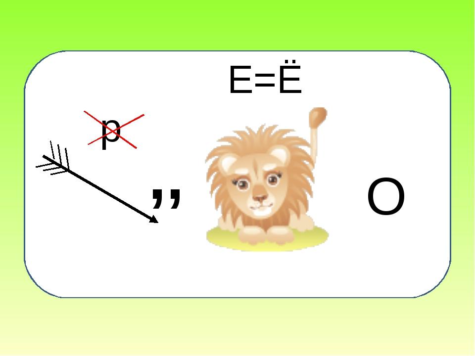 ,, Е=Ё О р
