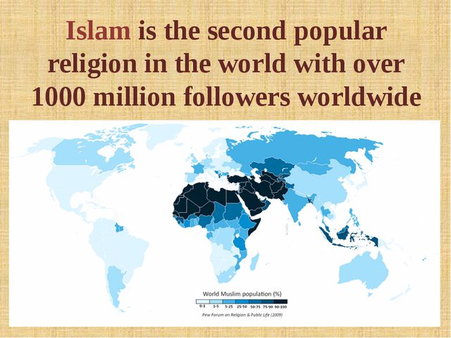 Islam is the second popular religion in the world with over 1000 million foll...
