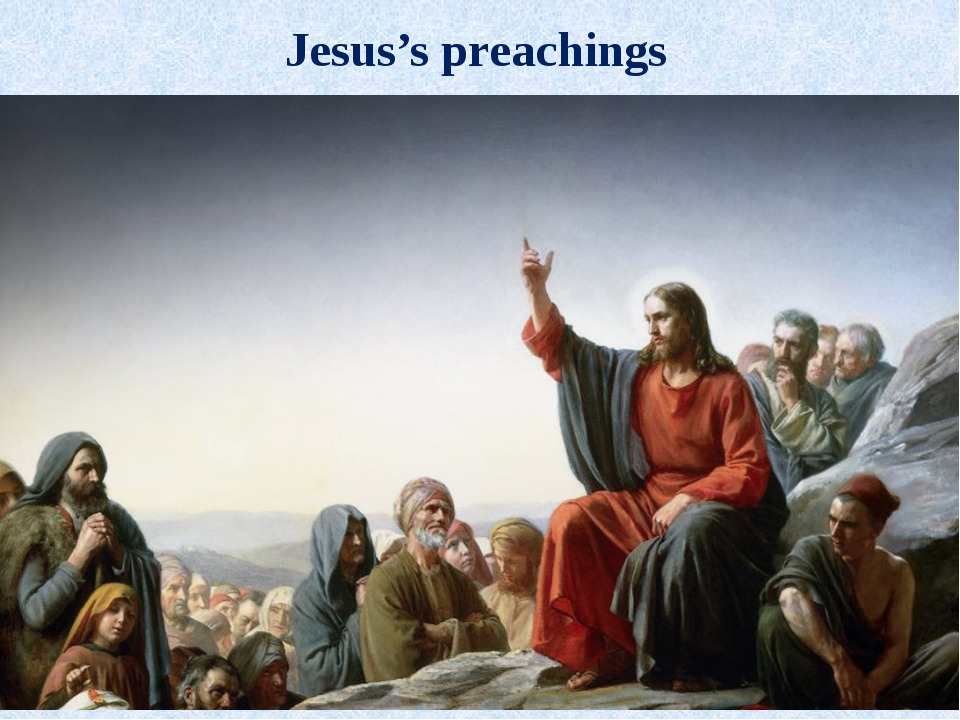 Jesus's preachings
