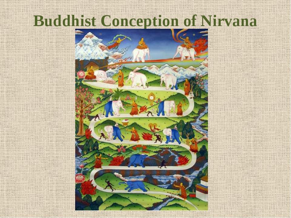 Buddhist Conception of Nirvana