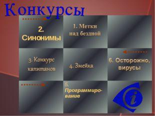 2. Синонимы   5. Программиро-вание