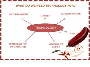 TECHNOLOGY ENTERTAINMENT CAREER COMMUNICATION SEARCHING FOR INFORMATION STUD