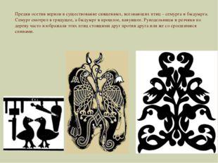 Предки осетин верили в существование священных, всезнающих птиц – семурга и б