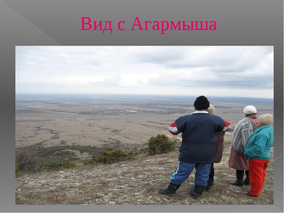 Вид с Агармыша