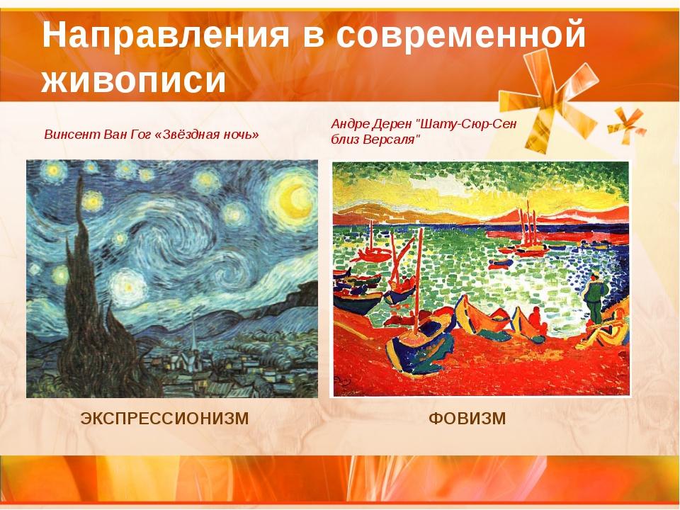 Направления в современной живописи ЭКСПРЕССИОНИЗМ Винсент Ван Гог «Звёздная н...