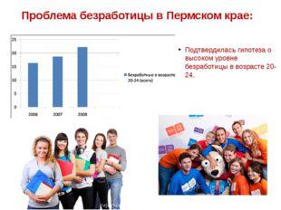 Проблема безработицы в Пермском крае: Подтвердилась гипотеза о высоком уровне