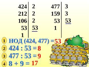 424 212 106 53 1 2 2 2 53 477 159 53 1 3 3 53 53 1 2 8 3 9 4 17