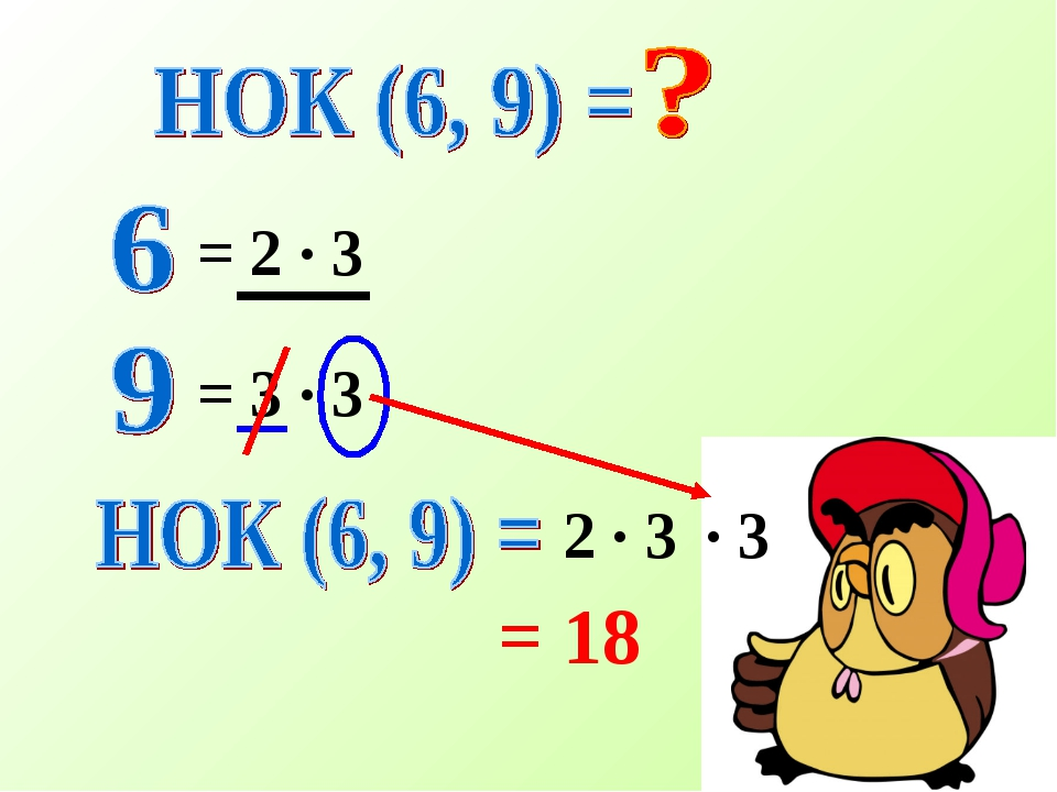= 2 · 3 = 3 · 3 2 · 3 · 3 = 18