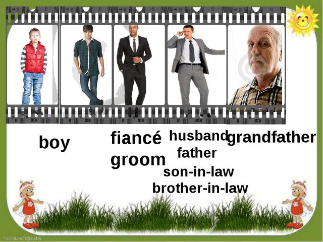 boy fiancé groom husband father son-in-law brother-in-law grandfather