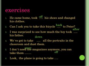 Exercises Liza said she would never give ….. singing. I want to ask Mike to g