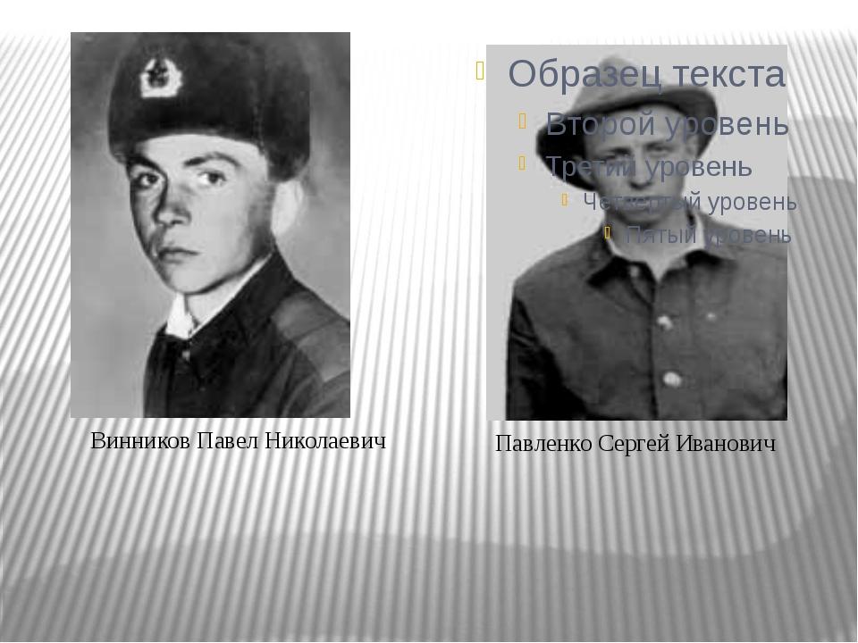 Винников Павел Николаевич Винников Павел Николаевич