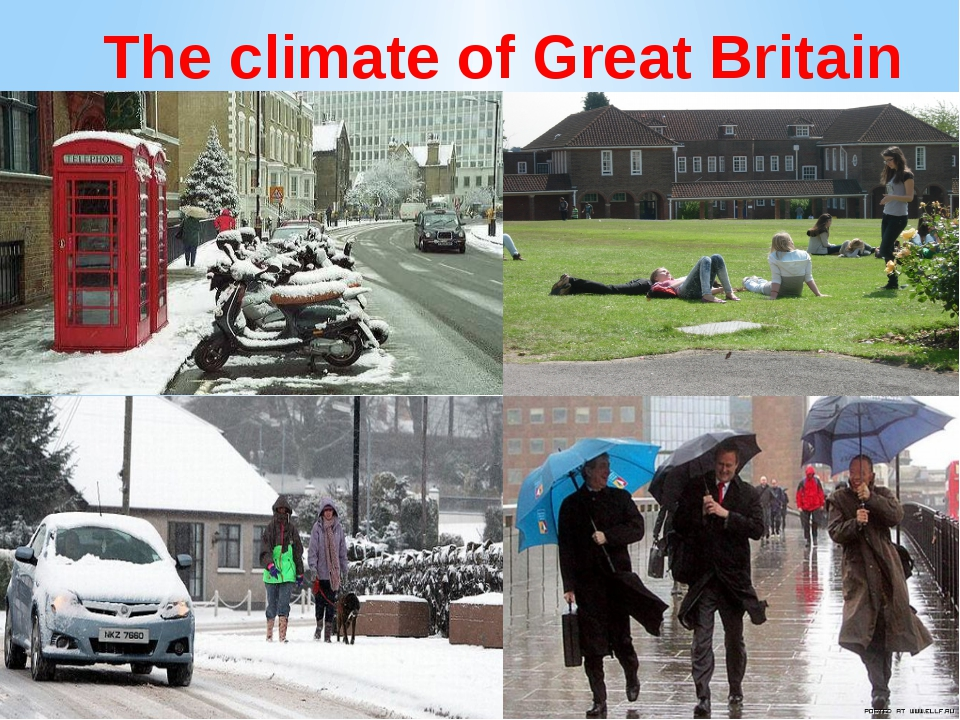 The climate of Great Britain