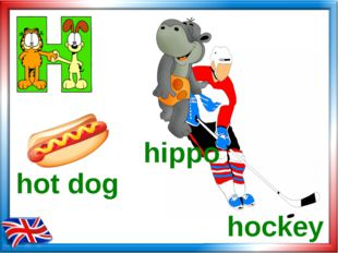 hockey hippo hot dog