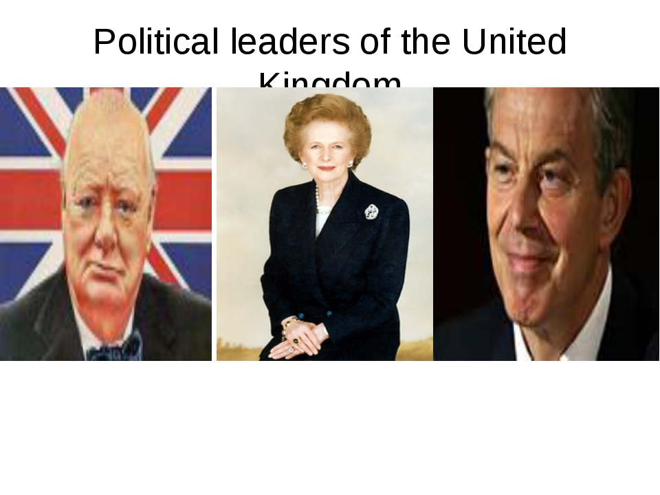 Political leaders of the United Kingdom