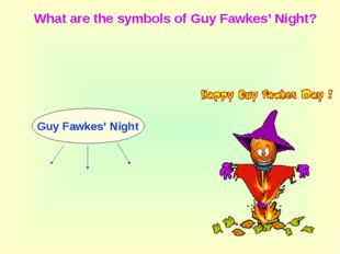 Guy Fawkes' Night What are the symbols of Guy Fawkes' Night?