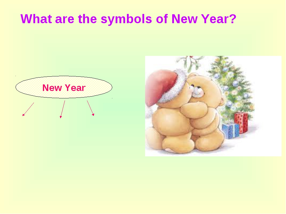 New Year What are the symbols of New Year?