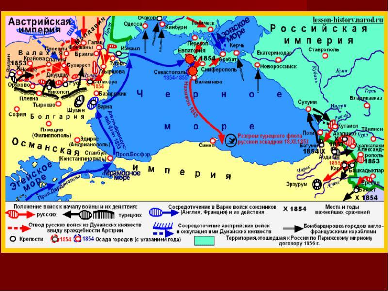 Крымская война 1853-56 годов в фотографиях
