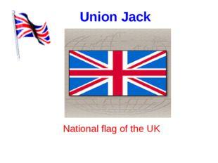 Union Jack National flag of the UK