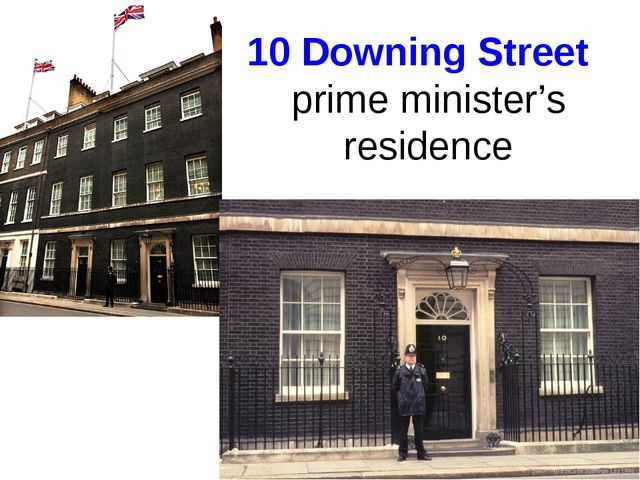 10 Downing Street  prime minister's residence