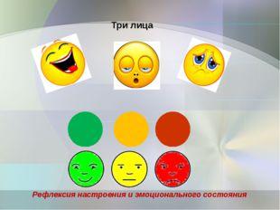 Рефлексия настроения и эмоционального состояния Три лица