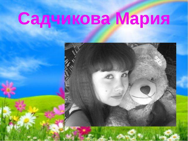 Садчикова Мария