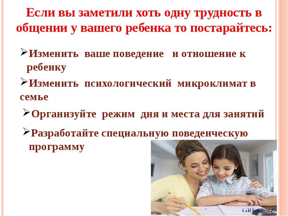 Если вы заметили хоть одну трудность в общении у вашего ребенка то постарайте...