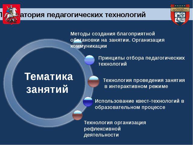 Методы создания благоприятной обстановки на занятии. Организация коммуника...