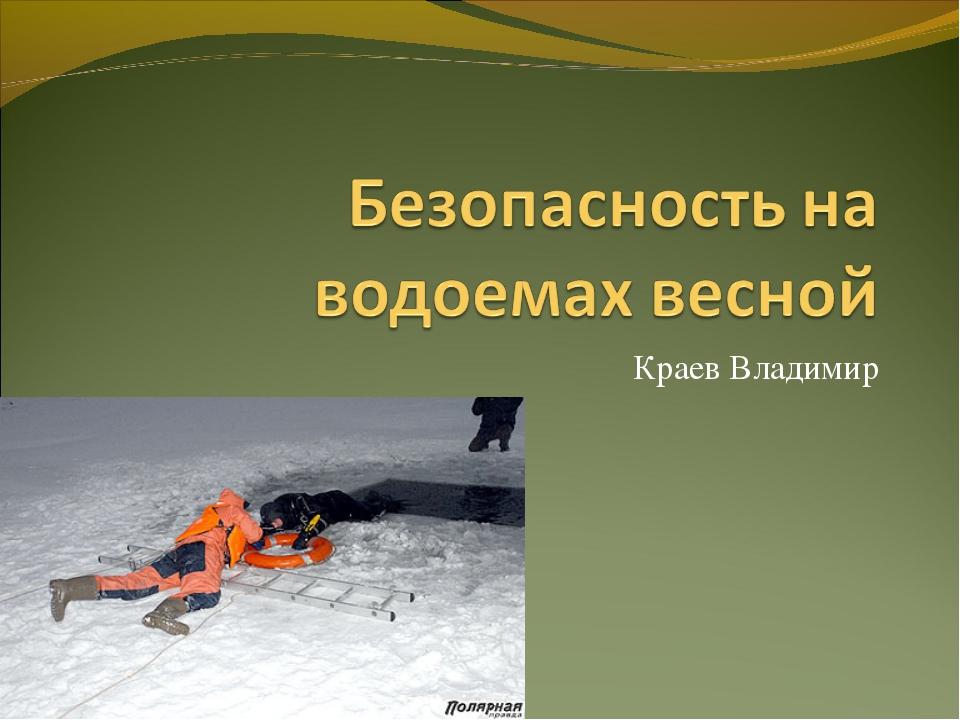Краев Владимир