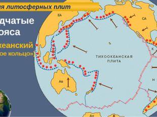 Теория литосферных плит Складчатые пояса Тихоокеанский («Огненное кольцо»)