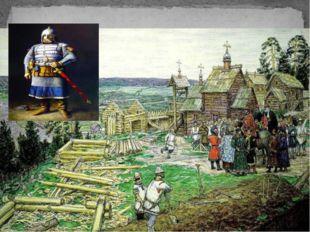 В 1156 году, были построены первые деревянные стены Кремля.