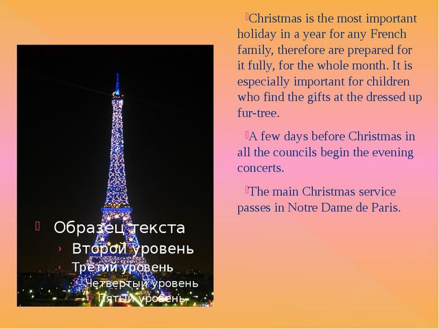 Christmas is a holiday, which became a good occasion to Americans to visit r...