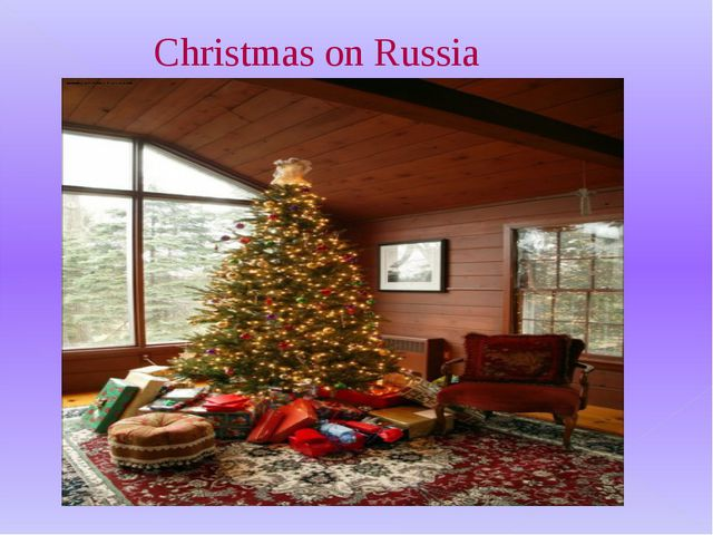 In England Christmas — the present family holiday. This day all gather in the...