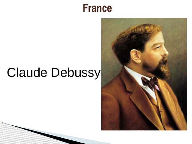 France Claude Debussy