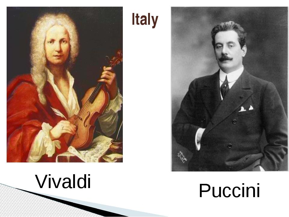 Italy Vivaldi Puccini
