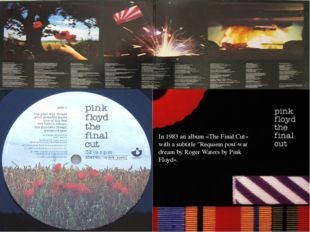 """In 1983 an album «The Final Cut» with a subtitle """"Requiem post-war dream by R"""