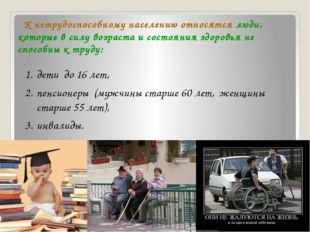 Занятость и безработица Занятость – деятельность людей, с помощью которой он